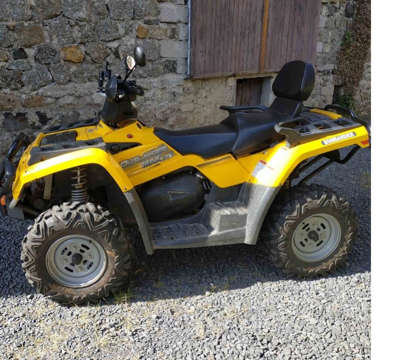 Photos Vivastreet quad biplace Outlander max XT 400