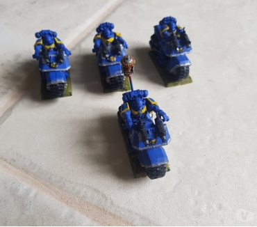 Photos Vivastreet Space marine BIKE SQUAD (4 motos)