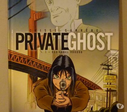 Photos Vivastreet BD PRIVATE GHOST - Tome 1 'Red Label Voodoo'
