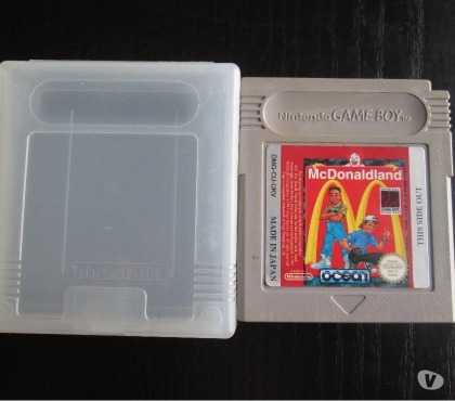 Photos Vivastreet Jeu Mc Donaldland pour game boy color.