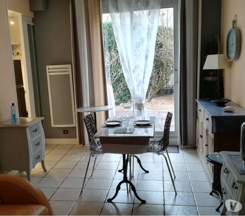 location de vacances vichy 03200 location saisonniere f1 avec terrasse et jardin 3. Black Bedroom Furniture Sets. Home Design Ideas
