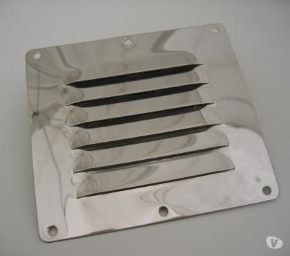 Photos Vivastreet Grille ventillation 128 x 116 mm inox