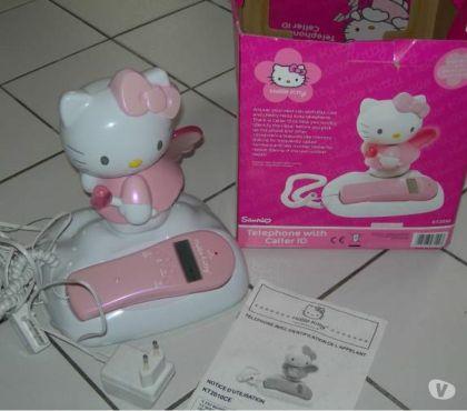 Photos Vivastreet telephone fixe fillaire hello kitty