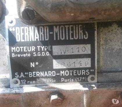 Photos Vivastreet moteur BERNARD W 110 pour pièces