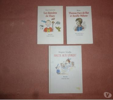 Photos Vivastreet 3 livres L'école des loisirs