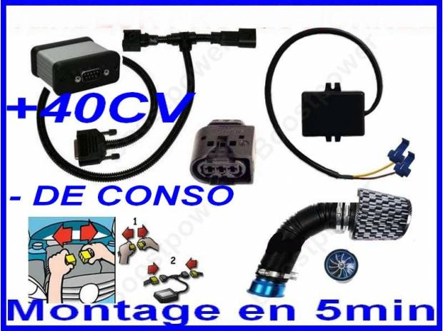 Photos Vivastreet BOITIER ADDITIONNEL ELECTRONIQUE PUCE POWER 40CV 129€