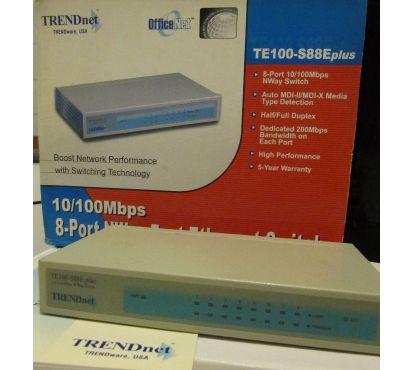 Photos Vivastreet Switch Trendnet TE100-S88Eplus
