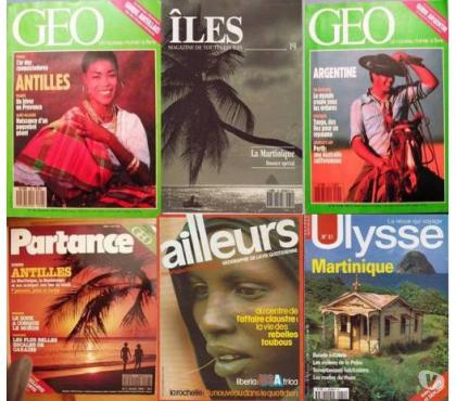 Photos Vivastreet GEO, ILES, PARTANCE… (Revues : années 1976 à 1996)