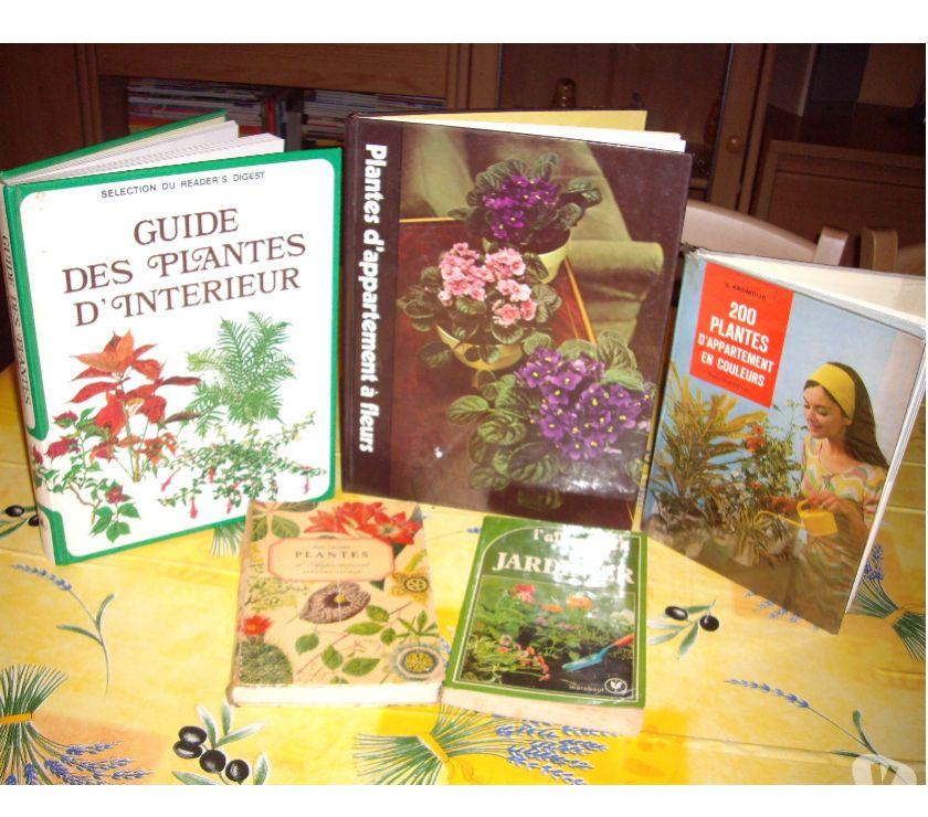 Livres occasion Isère Arandon - 38510 - Photos Vivastreet 5 LIVRES PLANTES INTERIEURES