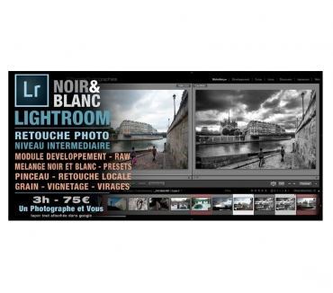 Photos Vivastreet Le noir & blanc avec Lightroom - Cours LR (Paris Online)