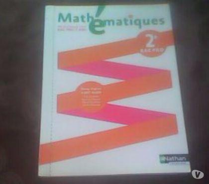 Photos Vivastreet livre Mathématiques Seconde Bac Pro