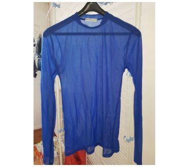 Photos Vivastreet T shirt bleu manche longue