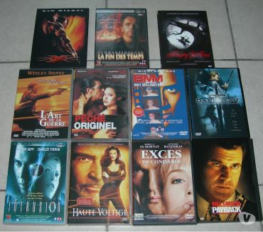 Photos Vivastreet Lot de 11 DVD: XXX, Payback, Sleepy Hollow, ...