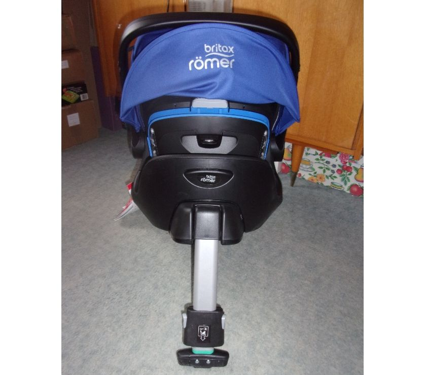Photos Vivastreet Pack Baby Safe I-Size Britax Römer Ocean Blue(Neuf)