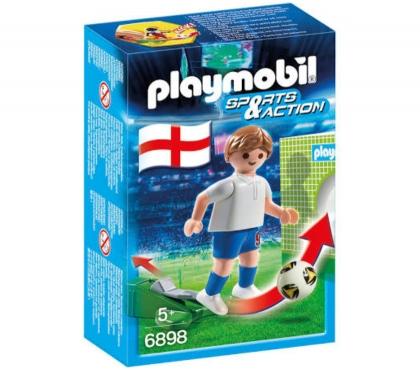 Photos Vivastreet Playmobil Footballeur Anglais 6898
