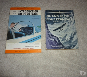 Photos Vivastreet 2 livres sur l'aviation