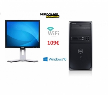 Photos Vivastreet PC Dell-vostro-230-core-2-duo-e7500-2.9-4gb-250go-windows10