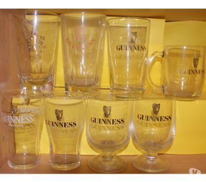 Photos Vivastreet guinness 8 verres différents