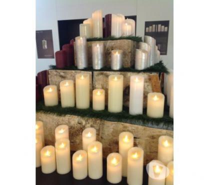 Photos Vivastreet Bougies LED & Cire éternelles ivoire et blanches Sompex