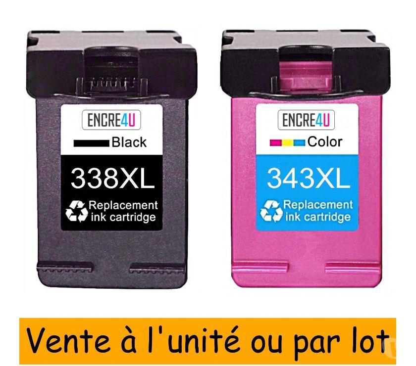 Photos Vivastreet Cartouches d'encre compatibles HP 338 et 343 XL PREMIUM