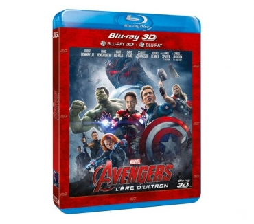 Photos Vivastreet FILMS {MARVEL AVENGERS} DVD BLU RAY 3D EXCELLENT ETAT.