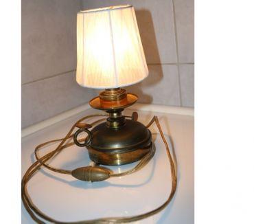Photos Vivastreet lampe de chevet métal laiton diam 11 cm haut 12cm