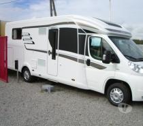 Burstner camping car lit central occasion - Camping car occasion lit central particulier ...