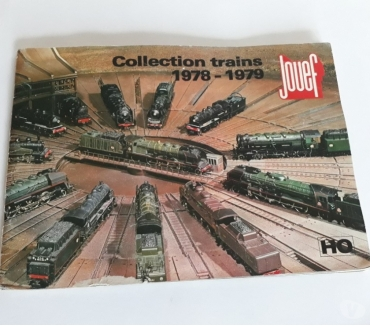 Photos Vivastreet Catalogue JOUEF « Collection trains 1978 – 1979 »