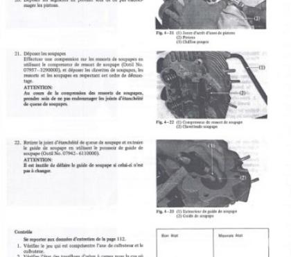 Photos Vivastreet Manuel d'atelier Honda CB 250 - 360G - 1973-77 - Fr.