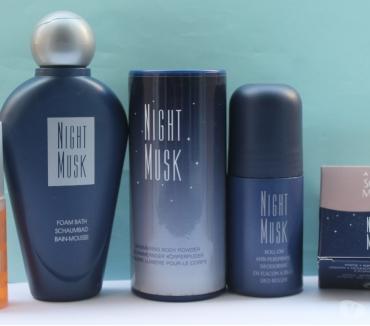 Photos Vivastreet NIGHT MUSK,FLEURIE MUSQUEE : LOT 6 ARTICLES + CADEAU (AVON)