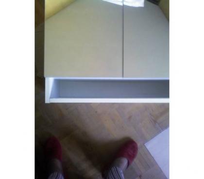 Photos Vivastreet rangement mural 60cm portes miroirs > faire offre