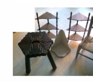 Photos Vivastreet étagères en bois, tabouret, mini meuble, ...13lili