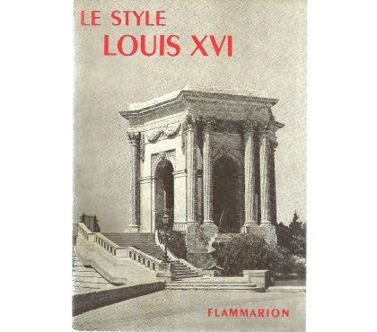 Photos Vivastreet LE STYLE LOUIS XVI la grammaire des styles