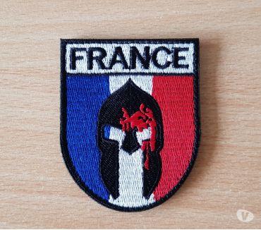 Photos Vivastreet Ecusson brodé drapeau français spartiate spartan