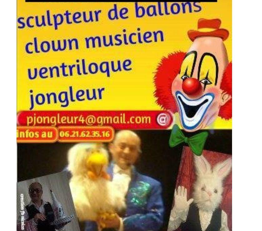 Concerts - Théâtre - Spectacles Nord Lille - Photos Vivastreet Pour toute occasion, jongleur, ventriloque, .....