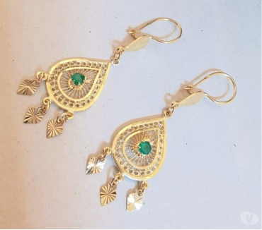 Photos Vivastreet Boucles d'oreilles pendantes Or 18 K