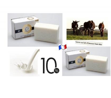 Photos Vivastreet Savons au Lait d'Ânesses Frais & Bio des Pyrénées à 10% 100g