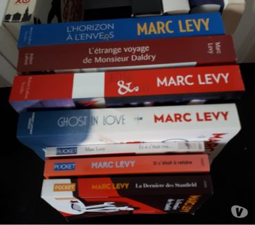 Photos Vivastreet 7 livres Marc LEVY