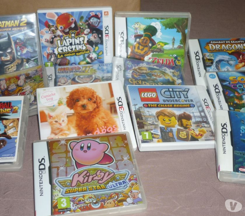 Photos Vivastreet JEUX NINTENDO DS