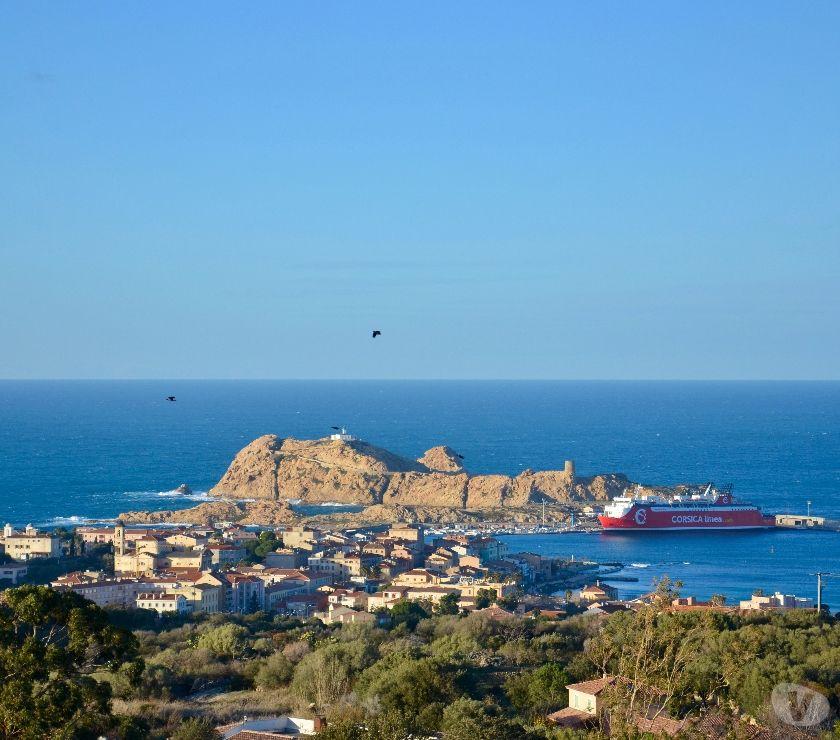 location saisonniere Haute-Corse L'Ile Rousse - 20220 - Photos Vivastreet Bel appart 4pers. clim, parking privé eet vue imprenable