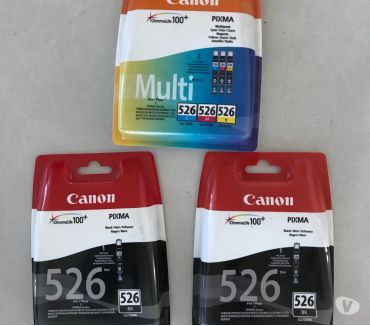 Photos Vivastreet lot cartouches pixma 526 CANON originales