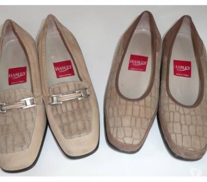 Photos Vivastreet Chaussures femme HASLEY pointure 38,5 / 39 cuir/nubuck