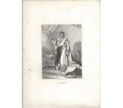 Photos Vivastreet Gravure ancienne de Napoleon