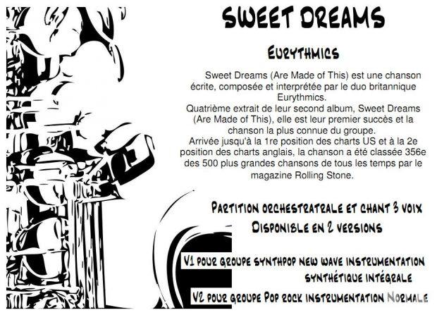 "Photos Vivastreet Partition ""SWEET DREAMS """
