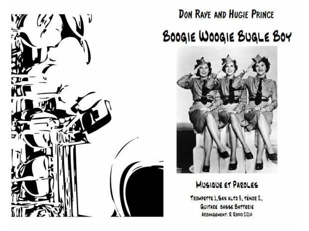 """Photos Vivastreet Musique et parolesr """"Boogie Woogie Bugle Boy"""""""