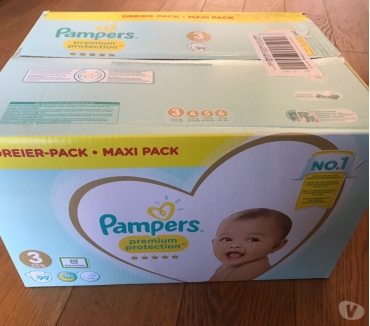 Photos Vivastreet Maxi pack (99) couches Pampers Premium Taille 3