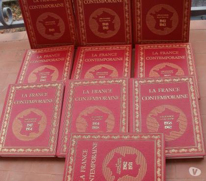 Photos Vivastreet LA FRANCE CONTEMPORAINE 10 volumes 1940-1974