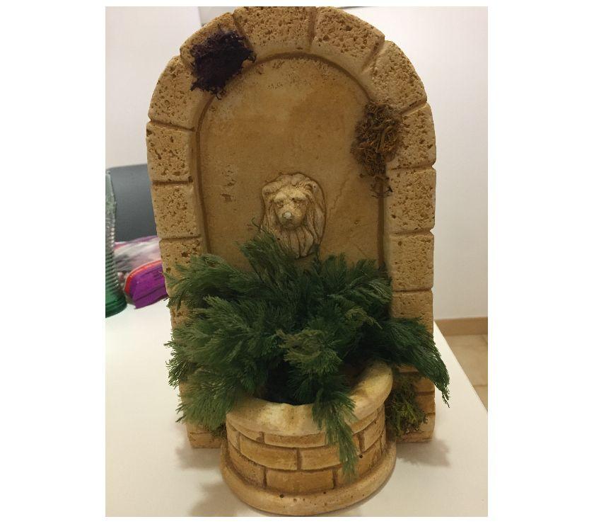 Photos Vivastreet Decoration en pierre à tête de lion