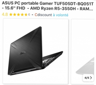 Photos Vivastreet PC portable ASUS Gamer