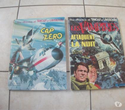Photos Vivastreet BD tanguy et laverdure 2 albums rare